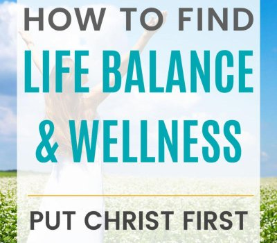 How Christians find life balance