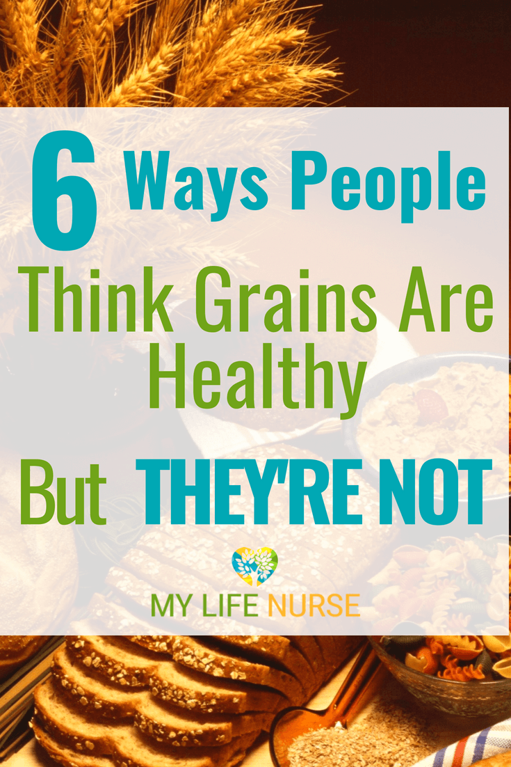 When you first decide to start eating healthy, making healthy choices can be a challenge. Here are 6 ways people think grains are healthy but they're not. See a list of unhealthy grains and a list of grains that are healthier options. A great way to start eating healthier.