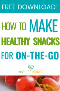 healthy snacks for on the go