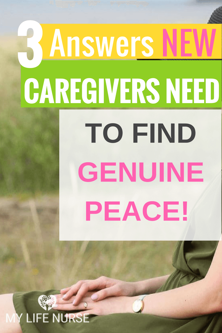 3 answers to important questions for stressed caregivers to find peace while providing care to loved ones at home. See answers to questions which include: 1. Do you have enough emotional support...