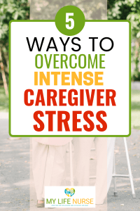 Elderly couple w walker Overcome Intense Caregiver Stress