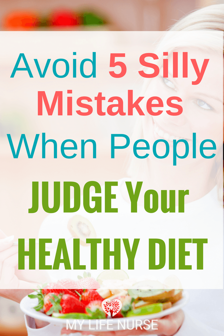 Start to eat healthy - people notice. Negative attention can affect your motivation when you want to change your lifestyle. These 5 things will help! Learn what NOT to do to keep your healthy eating mojo!