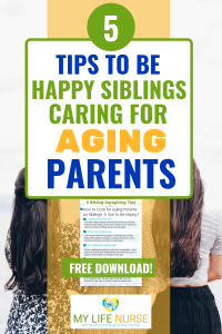 Sibling girls - 5 tips to be happy siblings for aging parents