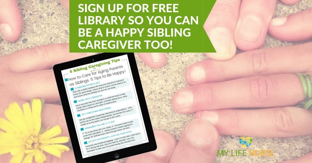hands in circle - free download care for aging parents as siblings