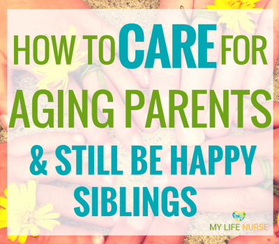 how to care for aging parents as siblings