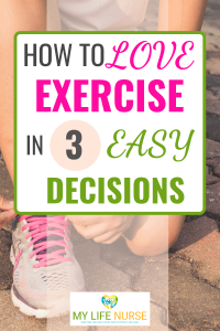 lacing shoe - How to Love Exercise in 3 easy decisions