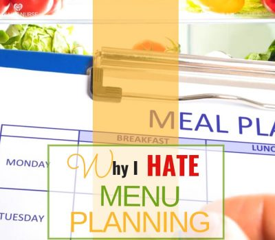 why I hate meal planning
