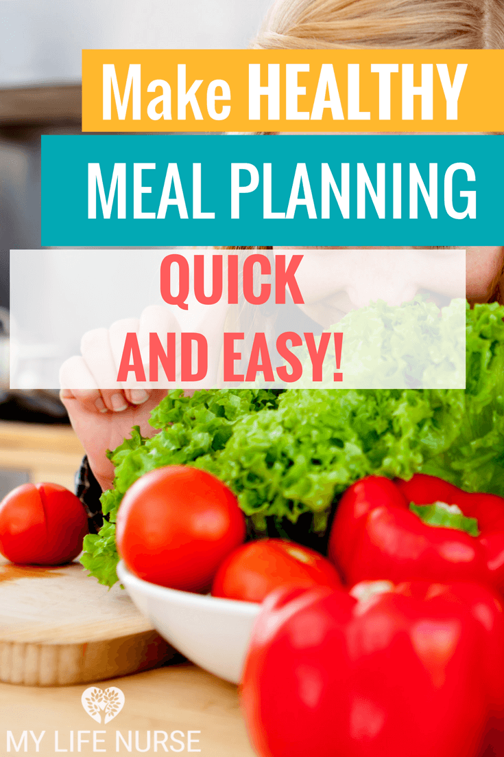 Make healthy meal planning quick and easy