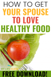 Red tomato on a fork - How to Get Your Spouse to Love Healthy Food