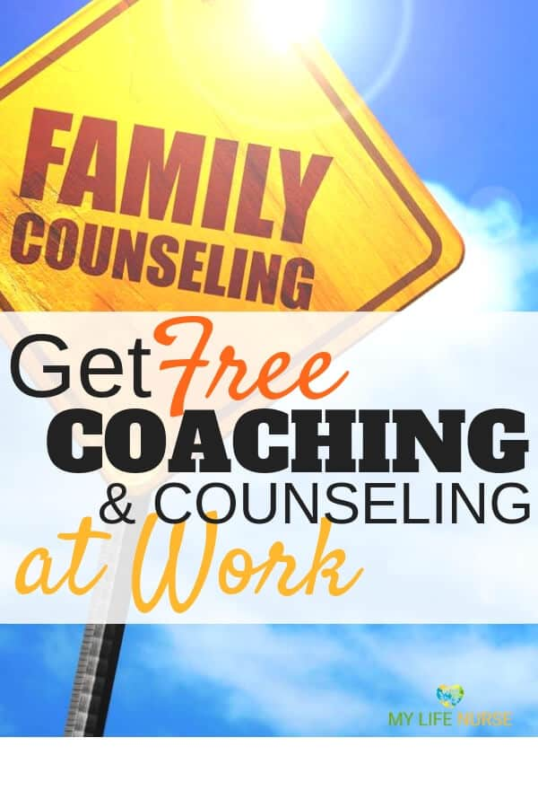 How to get coaching & counseling sessions and resources at work for free. Use the Employee Assistance Program for marriage issues, coworker struggles, stress, mental health, depression, child and parent relationship issues, struggles with boss, grief, loss or burn-out.
