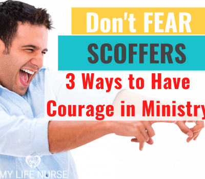 courage in ministry
