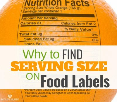 Finding and Measure Serving Size on Food