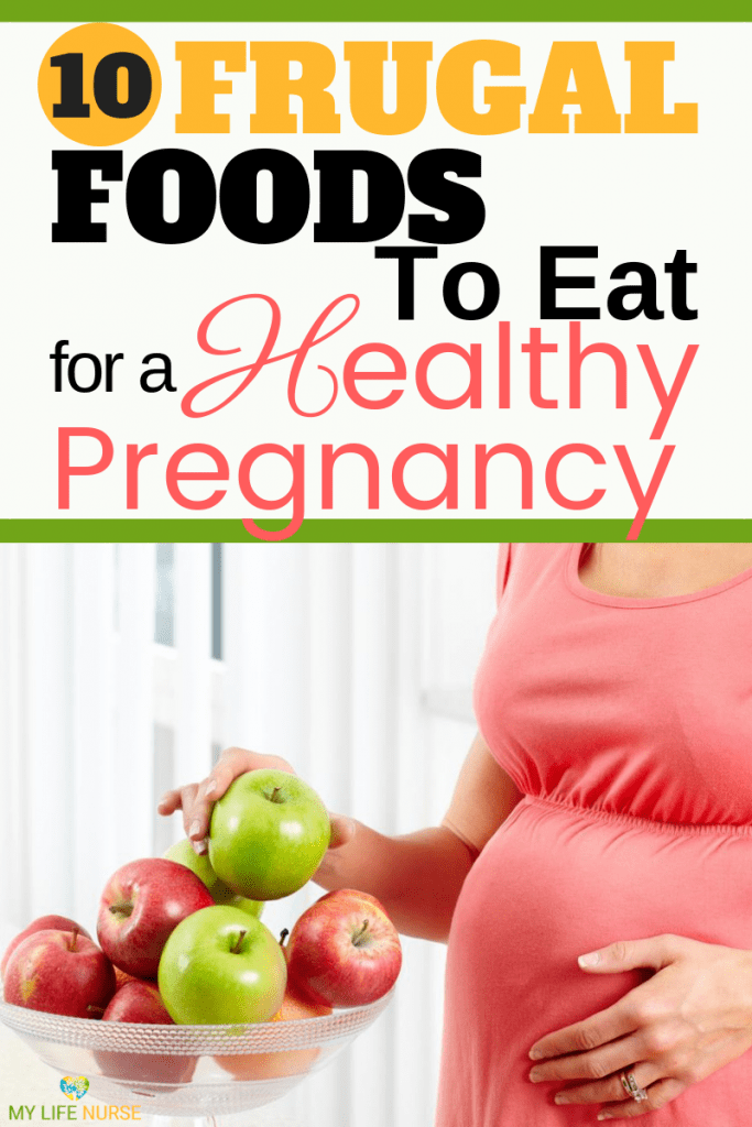 Frugal foods to eat for a healthy pregnancy and baby