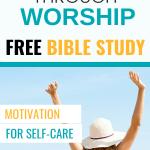 Apply faith in self-care