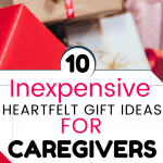 Heartfelt gift ideas for caregivers - P red