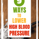 blood pressure cuff & meds self-care to lower high blood pressure