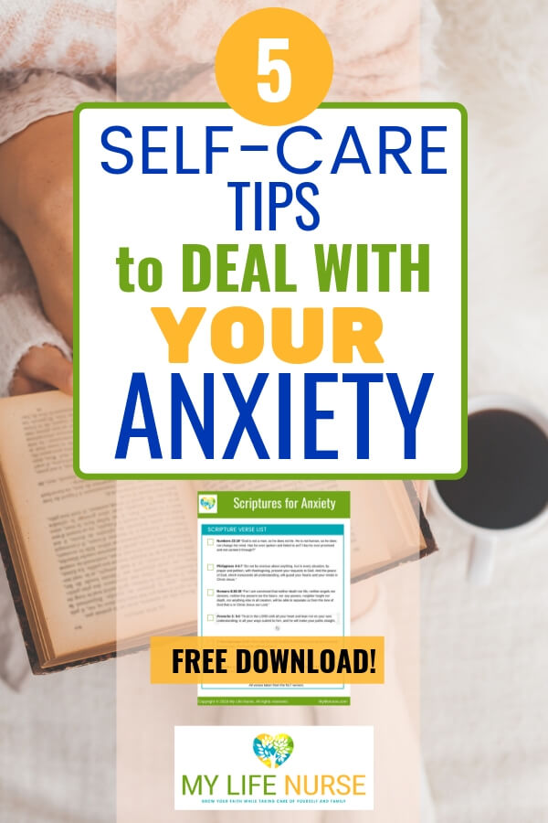 Bible  & cup of coffee - self-care tips to deal with your anxiety