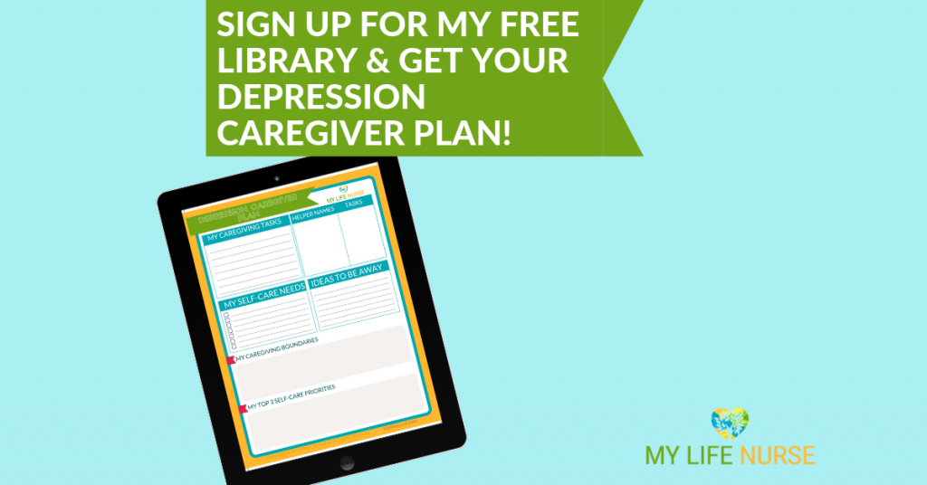 How to Care for Yourself as a Depression Caregiver
