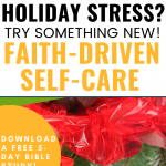Faith-driven self-care fudge in gift box
