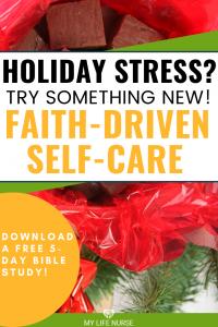 Faith-driven self-care fudge in gift box