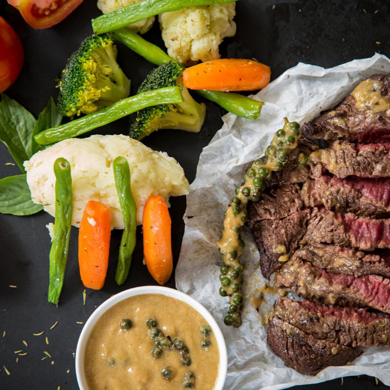 Steak - Best Gifts Men Actually Want When Stuck in Hospital