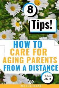 How to care for aging parents from a distance - daisys