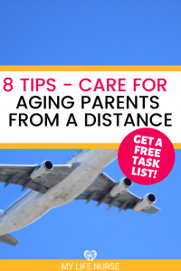 plane in air - how to care for aging parents from a distance