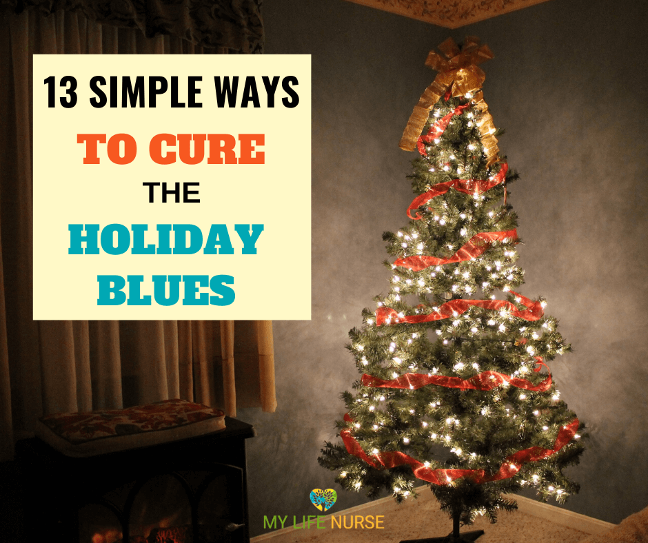 13 simple ways to cure the holiday blues - tree