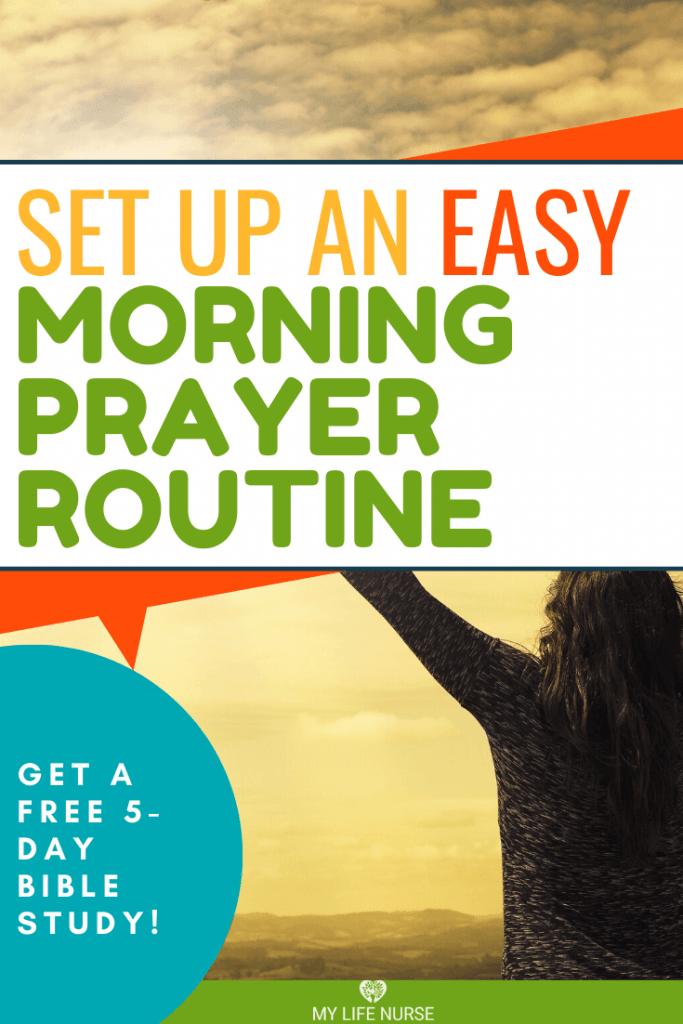 Easy Morning Prayer routine