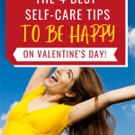 happy smiling woman in yellow top -Best Self-care Tips to be happy on valentine's day
