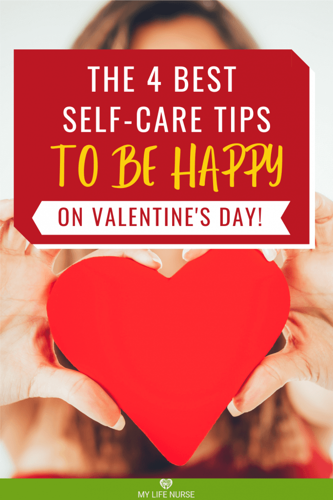 red heart in hands - Best Self-care Tips to be happy on valentine's day
